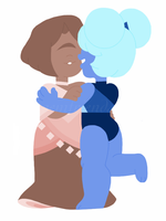 Just gals being pals by gemfriends