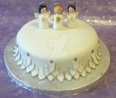 Angel Cake by ginas-cakes