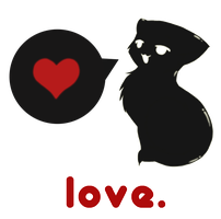 T-Shirt Contest: Love Kitteh by VandIChe