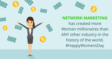 The Power of Network Marketing! #HappyWomansDay by michaelsboost