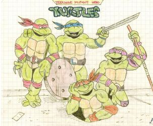 Teenage Mutant Hero Turtles (1998) by elfenscheisse