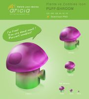 PUFF-SHROOM ICON by Aricia1