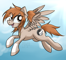 Herpa Derpin' All The Way Across The Sky by xMetalKitty