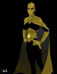 Dr. Fate Redesign by tsbranch