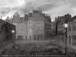 Miserables - Theatre set - Paris by senyphine