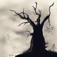 Ghost Tree by Citrusman19