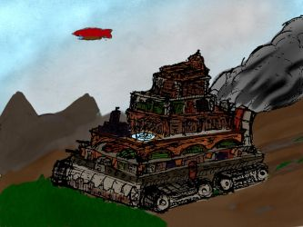 Traction City (colour) by SadJace