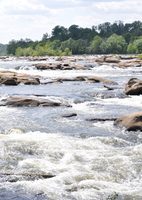 Raging Rapids of the James by WaywardPhotography