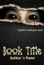Premade E-Book Cover 416 - Spooky Eyes by JassysART