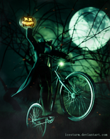 The Headless Bikeman by Icesturm