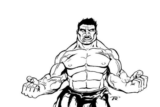 Red Hulk-small by AP-Anderson
