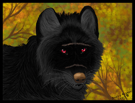 The Black Bastard by WeaselWomanCreations