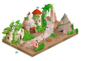 Isometric Map by Graconius