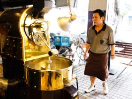 Sidewalk Coffee Roasting by bQw