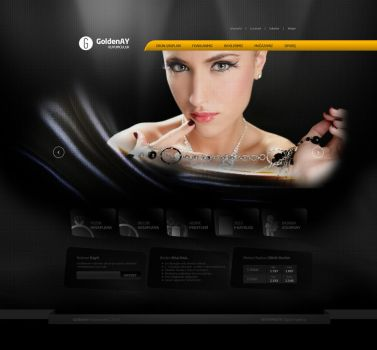 GoldenAY Kuyumculuk Web Interface v3 (2) by alisarikaya