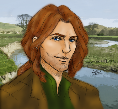 SWRPG: Kenneth Williams - Older (Color) by SuperAiko