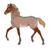 N2845 Padro Foal Design by casinuba