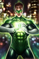 GREEN LANTERN by johnbecaro