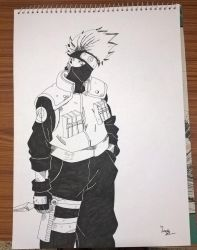 Kakashi by Sam30Lozak
