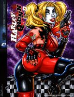 Harley Arkham Booty vertical sketch cover by gb2k