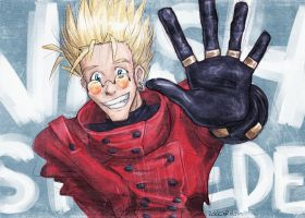Vash the Stampede by rockinrobin