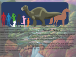The Land Before Time Species Chart 13: Iguanodon by jongoji245