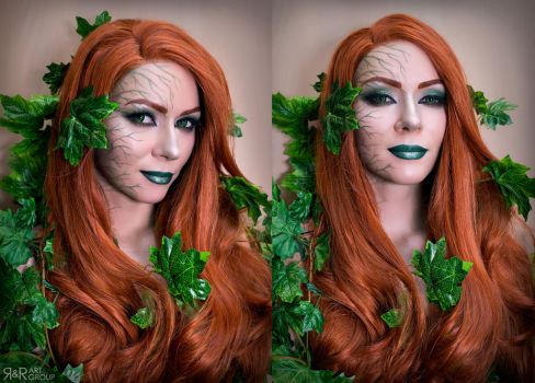 Poison Ivy [cos test] by Ryoko-demon