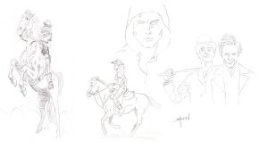 Odds and Ends Sketches by StevenWilcox