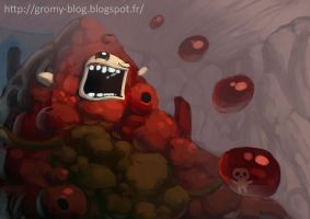 Gurdy - Binding of Isaac by Gromy
