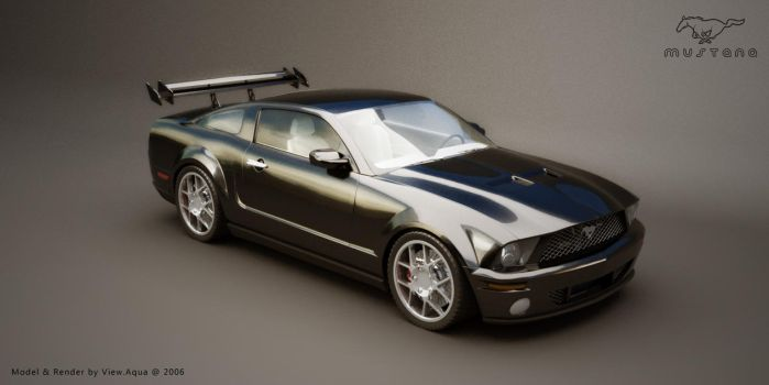 Ford Mustang new render by view