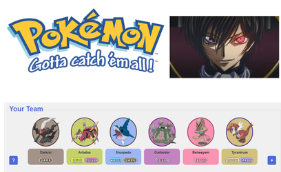 Who Has That Pokemon? Lelouch Lamperouge by RetroBomb1994