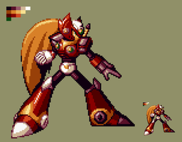 SvC Styled Zero (First try) by UnluckyMorpheus