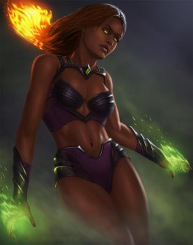 Starfire by salopla