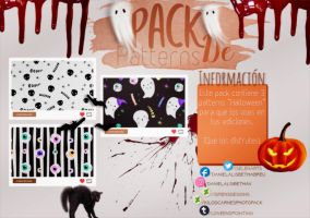 ~.Pack de Patterns #20 {Halloween} by ISirensDesigns