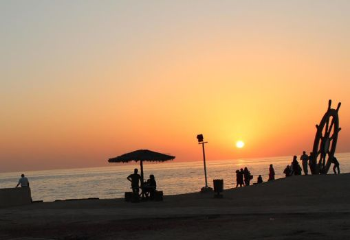 Sunset in Kish by maysam