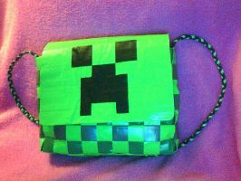 Duct Tape Creeper by UnderCoverCottonswab