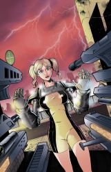Beatdown Girl Cover B COLORS by nickcaponi