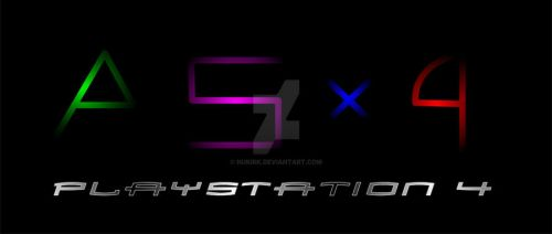 Playstation 4 Logo (Concept) by nukirk