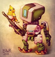 Chibi Bastion by bawky