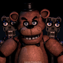 Angry Freddy - Render Remake (4K) by GamesProduction