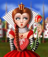 Queen of Hearts by Shorra