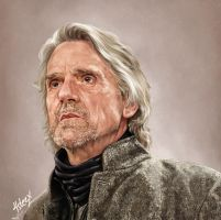 Jeremy Irons by 4steex