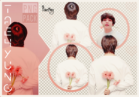 PNG PACK | Taehyung Flower #2 by Taeing