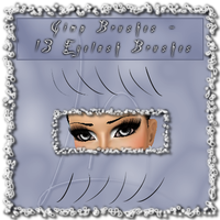 GIMP - Eyelash Brushes by el-L-eN