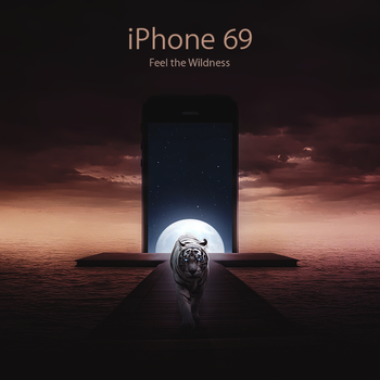 iPhone 69 by bananowsky