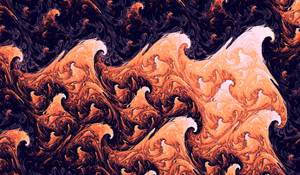 Layers of Volcano by LukasFractalizator