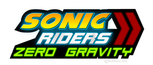 Sonic Riders Zero Gravity Logo remade by NuryRush