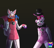 it's Showtime ! \ FNaF SL by DragonHF