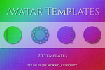Avatar Templates -  Set Nr. 01 by M-Curiosity