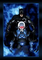 Batman and Mr. Freeze by Balsavor